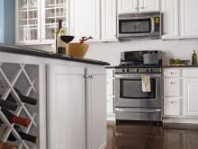 wood cabinets and flooring, granite countertops | sears home services