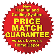 Heating and A/C Price Match