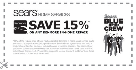 Kenmore Appliance Repair Schedule Service Save 20